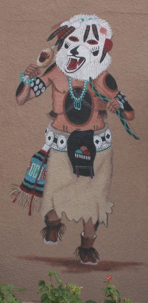 Kachina Bear Spirit