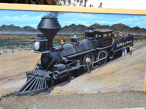 Southern Pacific Wood Burner