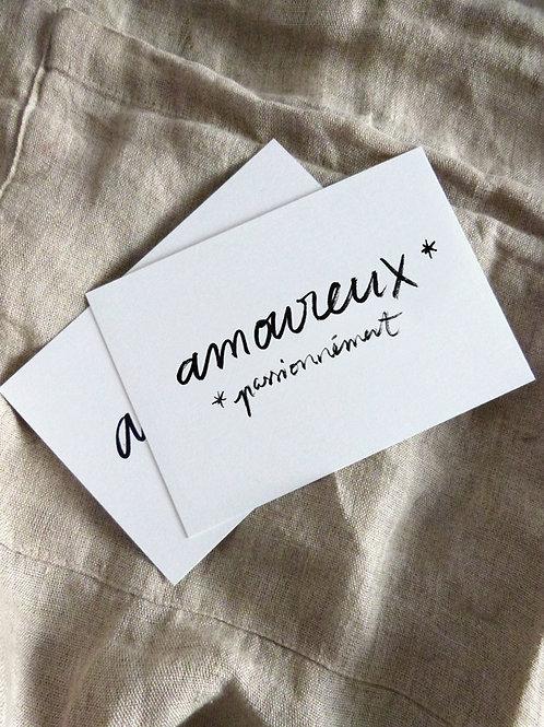 """""""Amoureux, passionnément"""""""