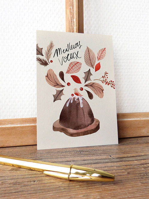 """Carte """"Pudding"""""""
