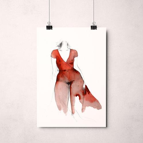 """""""La robe rouge"""""""