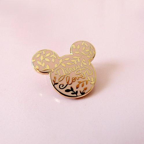 Pin's Disneylover Beige