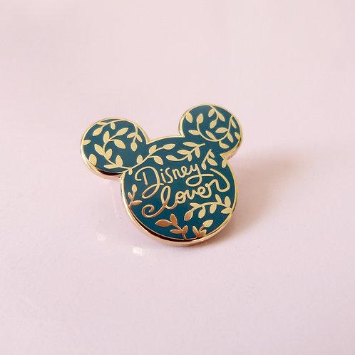 Pin's Disneylover Vert