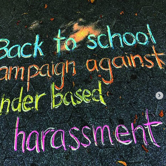 Back to school campaign against gender b