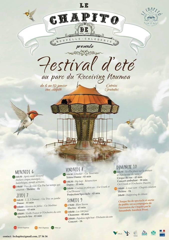 Festival d'été à Nouméa