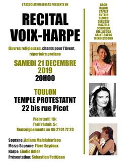 Récital Voix-Harpe