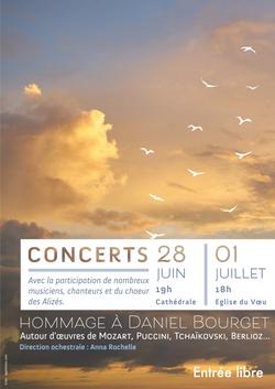 Concerts Hommage à Daniel Bourget