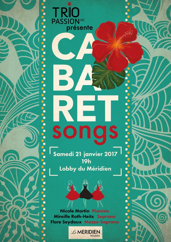 Cabaret songs au Méridien-Nouméa