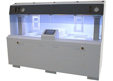 Wafer process semiconductor wet bench