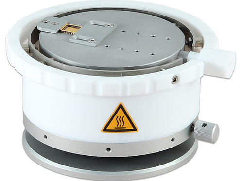 Rotated Adjustable Height Heater Stage Ø 90mm, 250°C
