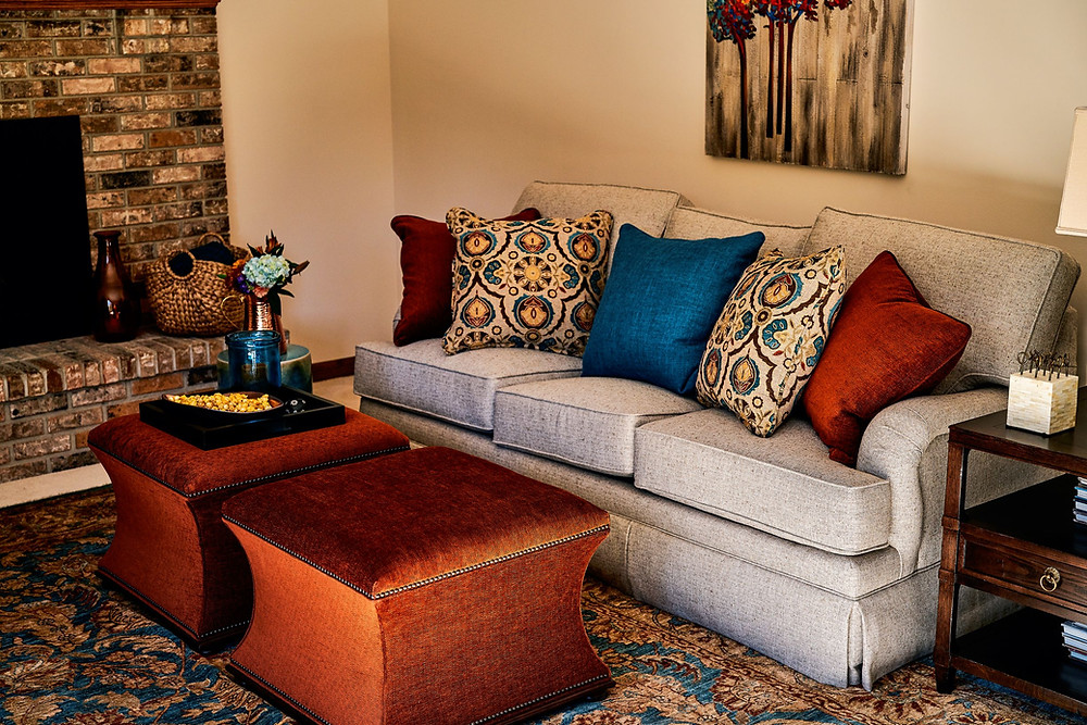 Warm & Inviting Family Room