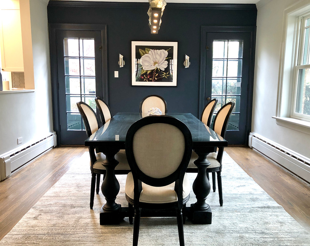 Dining Room - after Accessorizing