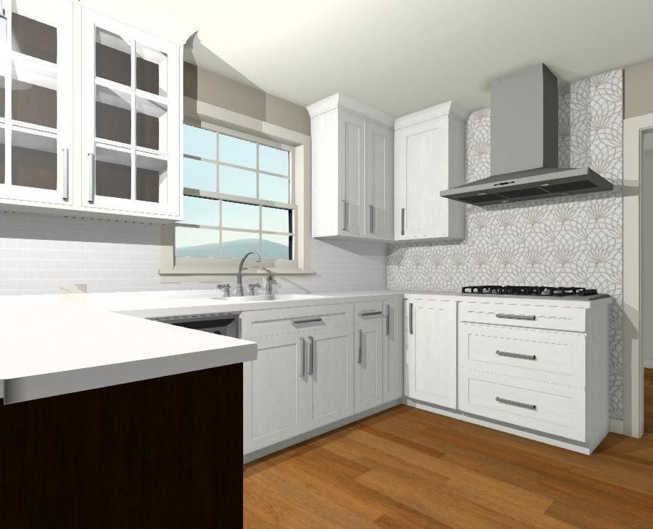 Final Kitchen Design Drawing