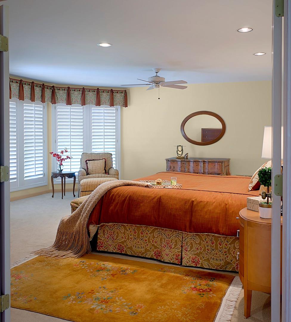 Glamorous North Shore Master Bedroom
