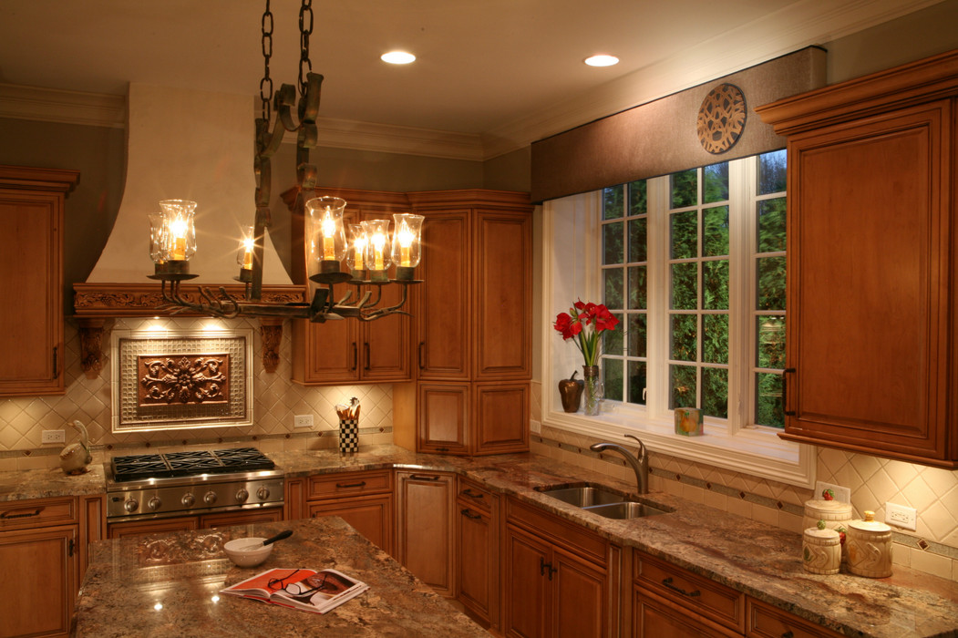 Warm and Welcoming Kitchen