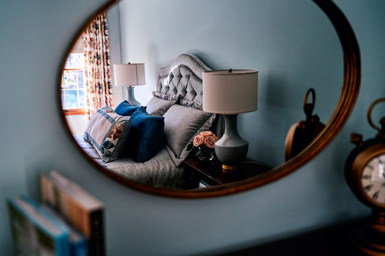 """Master Bedroom """"Through the Looking Glass"""""""