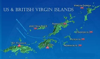 the virgin islands have beautiful year round weather from december to march the temperature ranges from the mid 70s to high 80s with breezy evenings