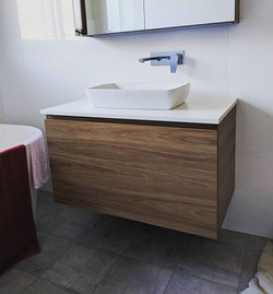 Another cool vanity we roughed in and in