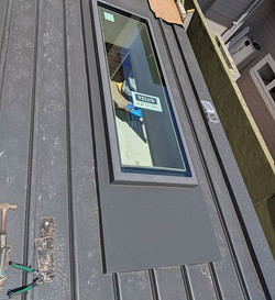 Two skylights I installed into a Cliplok