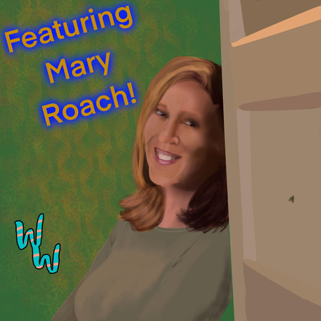 Flies!! And their wiggly children, with Mary Roach!