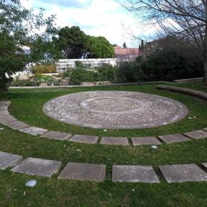 An artistic garden in Lisbon
