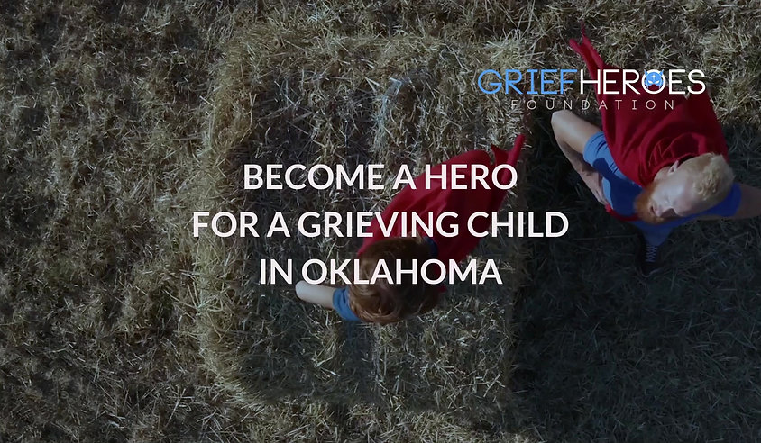 Become a hero for a grieving child in Oklahoma