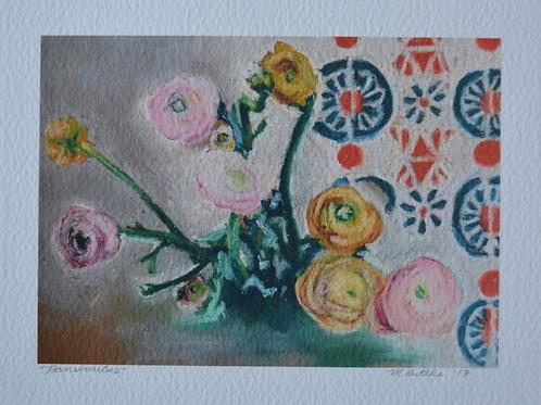 Ranunculus Fine Art Print