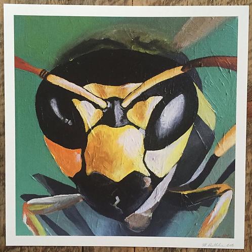 Paper Wasp Fine Art Print