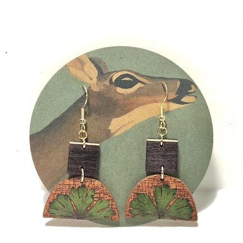 Wild Geranium Earrings