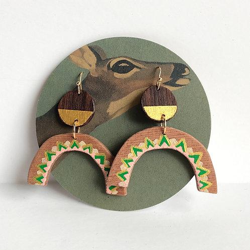 Green Flash Earrings