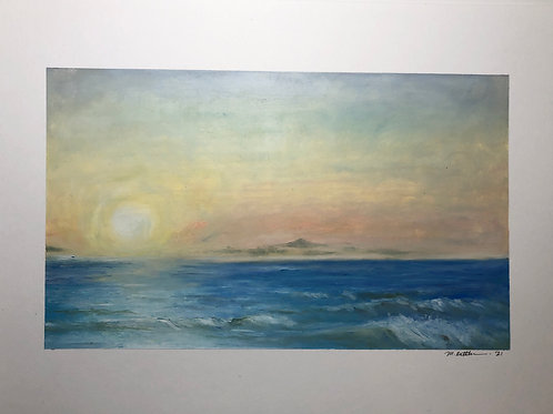 """""""Sunrise Before Easter: Ocean City"""""""