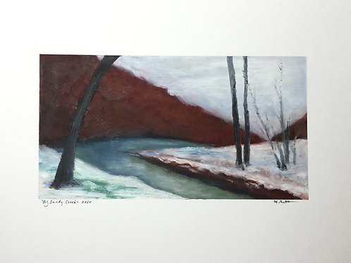 """Big Sandy Creek"" Original Painting"