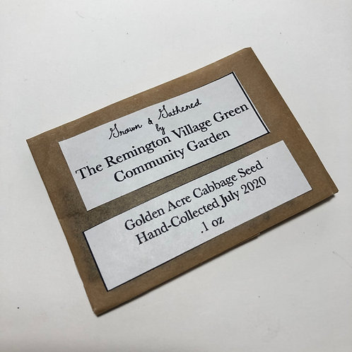 Golden Acre Cabbage Seed .1oz