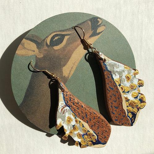 Milkweed Pod Earrings