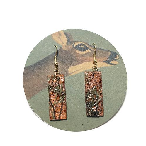 Cilantro Flower Earrings