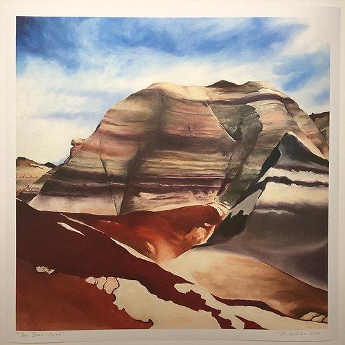 The Blue Mesa Print