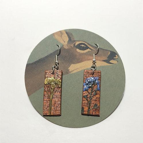 Forget-Me-Not & Shepherd's Purse Earrings
