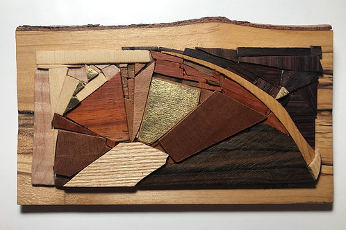 """The Valley"" Reclaimed Wood Mosaic"