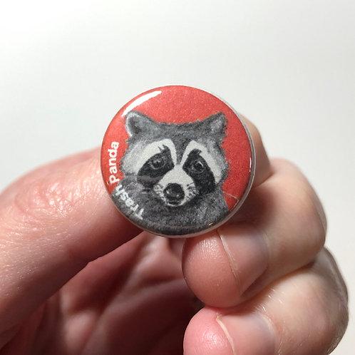 Trash Panda Pin or Magnet