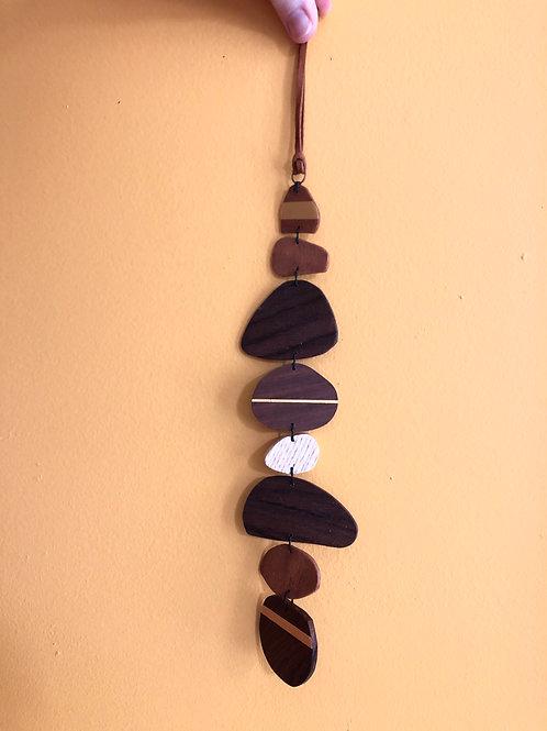 Pebbles & Horizons #3 Wall Hanging