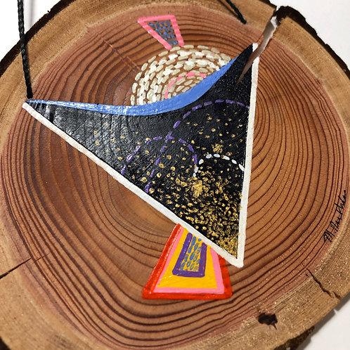 """How Satellites Talk"" Wall Hanging"