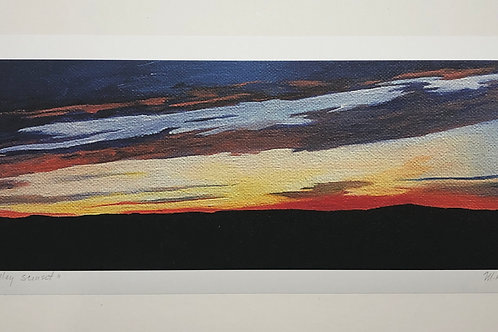 Canaan Valley Sunset Print