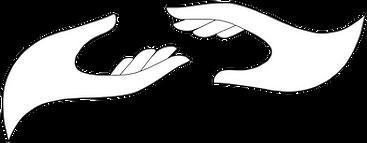 Logo Entre 2 mains Myriam Rossignol