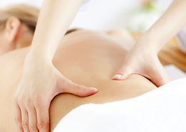Massage suédois du dos