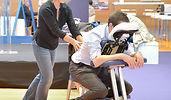 Massage assis su chaise