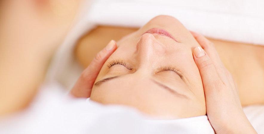 Massage californien du visage