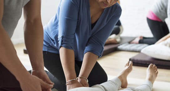 Stage d'initiation au massage de bien-être
