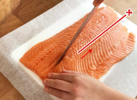 How to cut FILLET into SASHIMI