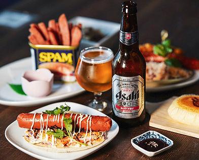Ikki's happy hour food and beer