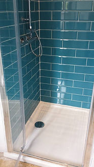 shower cubicle installation